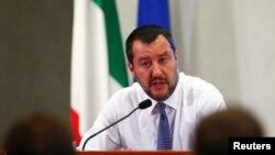 Ministro do Interior Matteo Salvini