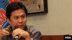 Ade Irawan, Indonesian Corruption Watch (ICW) (Foto: dok/VOA/Iris Gera)