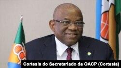 Georges Chikoti, secretário-geral da Organização dos Estados de África, Caraíbas e Pacífico (OACP)