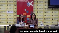 Sa predstavljanja izveštaja Fonda za humanitarno pravo (Foto: video grab)