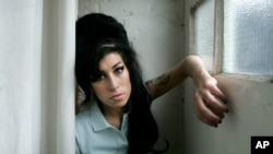 Amy Winehouse a Londres, en 2007.