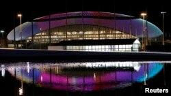 Kubah es Bolshoy salah satu fasilitas pertandingan di arena Olimpiade Sochi di Rusia bulan depan (26/1).