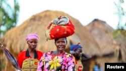 Baadhi ya wakazi huko mashariki mwa Congo