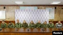 Ruski vojnici prije neki dan zarobljeni na ukrajinskoj teritoriji