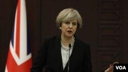 英国首相特雷莎.梅