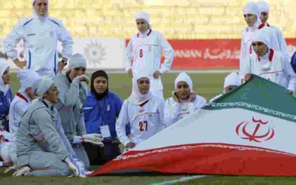Iran's women's team was correctly prevented from playing a 2012 Olympics qualifier wearing Islamic head scarves, FIFA said Monday.