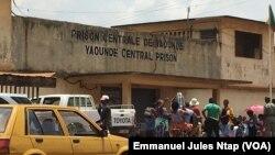 La prison centrale de Yaoundé, au Cameroun, le 22 mars 2018. (VOA/Emmanuel Jules Ntap)