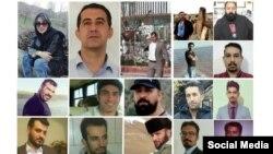 İran Azərbaycanında su qıtlığına qarşı etirazlarla əlaqədar həbs edilən fəallar