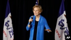 民主黨籍聯邦參議員伊莉莎白·華倫宣佈正式參加2020年白宮總統大選