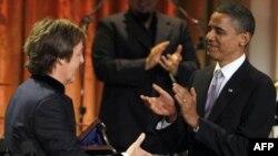 Ish bitëllsi Makartni nderohet me çmimin prestigjioz Gershwin