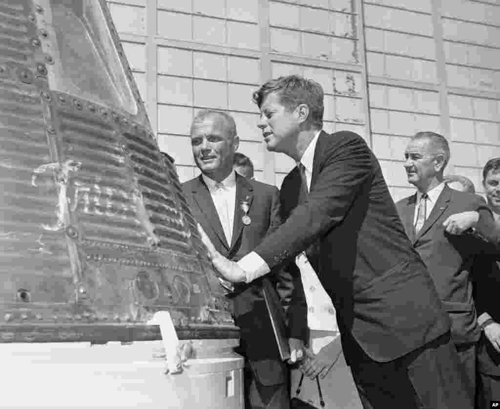 John Glenn And JFK