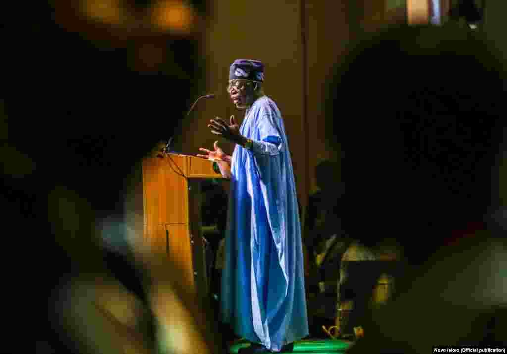Asiwaju Ahmed Bola Tinubu