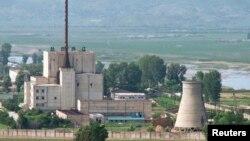 北韓的核設施(資料照片)
