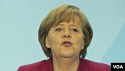 Partai pimpinan Kanselir Jerman, Angela Merkel kalah dari partai oposisi pada pemilu regional.