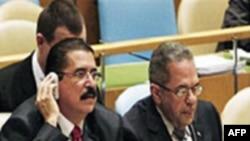Генеральная Ассамблея ООН осудила переворот в Гондурасе