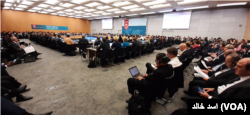 ایف اے ٹی ایف کے گزشتہ سال اکتوبر میں ہونے والے اجلاس کا ایک منظر