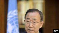 Tổng thư ký Liên Hiệp Quốc Ban Ki-moon nói sự tồn vong của các đảo quốc Thái Bình Dương bị đe dọa bởi tình trạng biến đổi khí hậu