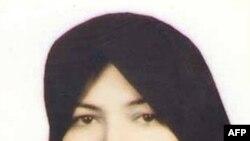 Hai phóng viên bị bắt khi đang tìm cách phỏng vấn con trai của bà Sakineh Mohammadi Ashtiani (hình trên)