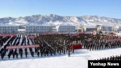 벌판을 대규모축산기지로 바꾸기 위한 군민연환궐기모임이 지난달 4일 북한 세포군과, 평강군, 이천군에서 각각 열렸다고 조선중앙통신이 보도했다.