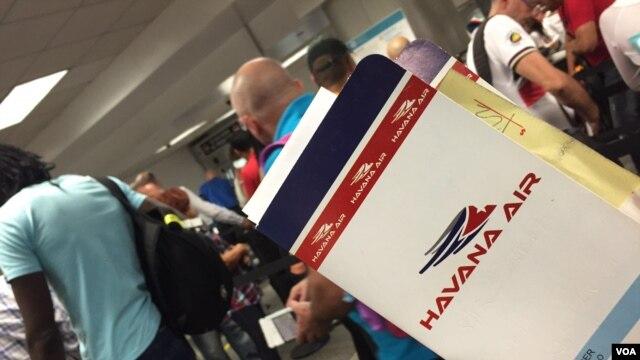 EE.UU. y Cuba en busca de reanudar vuelos comerciales