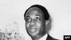 Une photo non datée montre le premier ministre du Ghana, Kwame Nkrumah.