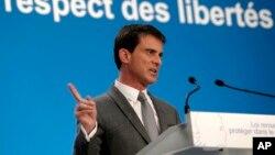 PM Perancis Manuel Valls mengatakan polisi Perancis telah menggagalkan lima rencana serangan teror di negaranya sejak tahun 2013 (foto: dok).
