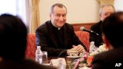 Foto de archivo de monseñor Pietro Parolin, quien ha asumido como Secretario de Estado del Vaticano.