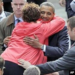 Le président Obama accueilli chaleureusement à Dublin