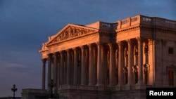 美國國會大廈的眾議院。