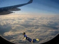 Van Persie in the skies.