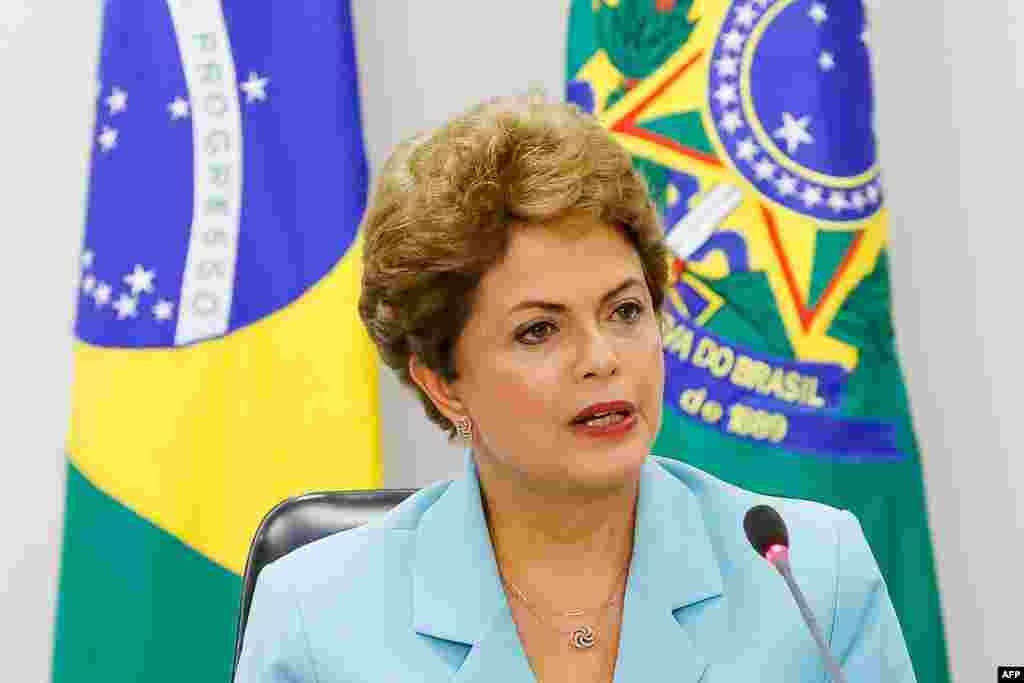 Braziliya prezidenti Dilma Russseff