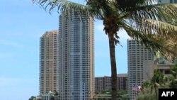 佛罗里达的共管公寓大楼