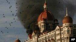 ممبئی میں دہشت گرد حملے کا نشانہ بننے والا ہوٹل (فائل فوٹو)