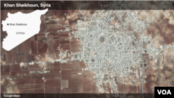Khan Sheikhoun, Suriah.