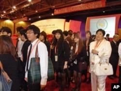青年学生代表