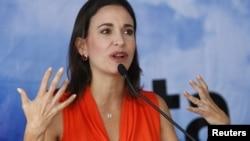 La diputada de la oposición de Venezuela, María Corina Machado, podría ser invitada a explicar lo que sucede en Venezuela, si la OEA acepta la propuesta de Panamá.