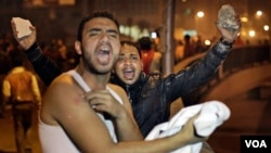 Las manifestaciones se repiten en varias ciudades de Egipto.