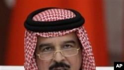 King of Bahrain, Sheik Hamad bin Isa al Khalifa (file photo)