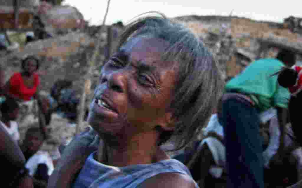 El 12 de enero de 2010 un terremoto de magnitud 7 azotó Haití.