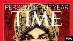 Majalah TIME menobatkan para demonstran sebagai 'Person of the Year' 2011.