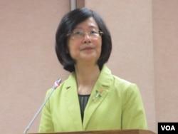 台灣法務部長羅瑩雪(美國之音張永泰拍攝)