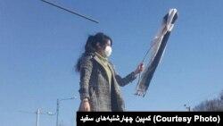 Protest of Hijab Iran. (File)