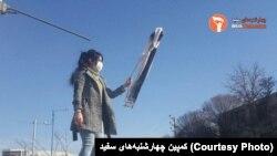 گزارش تصویری: ادامه اعتراض نمادین به حجاب اجباری در ایران