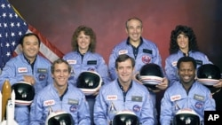 Posada raketoplana Challenger