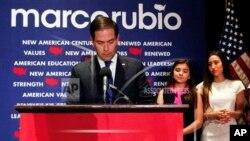 Marco Rubio, qui a quitté la course à la présidence le 15 mars après avoir perdu la primaire dans son fief, la Floride, est évoqué par Donald Trump comme l'un de ses choix pour la vice-présidence si jamais il devient président.