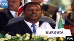 Rais wa zamani wa Burundi Pierre Buyoya