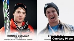 The U.S. Ski Team is mourning the loss of two promising development-level ski racers killed Monday in an avalanche in Soelden, Austria: Ronnie Berlack, 20 and Bryce Astle, 19. (USSA handout photo)