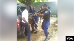 Bilili ya bobamami ya mokambi ya lopitalo Vijana na Lingwala na Kinshasa, le 30 octobre 2019. (VOA)
