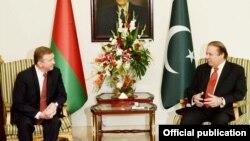 پاکستان اور بیلاروس کے وزرائے اعظم