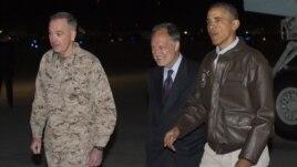 Presidenti Obama në një vizitë-surprizë në Afganistan